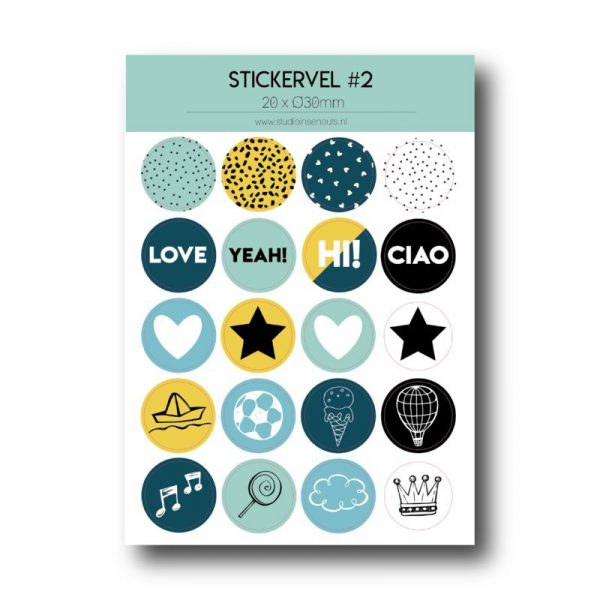 Stickervel